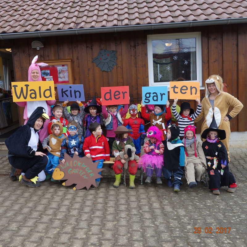Waldkindergarten Deizisau Aktionen2017